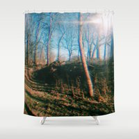 trippy Shower Curtains featuring trippy by ghostchesters