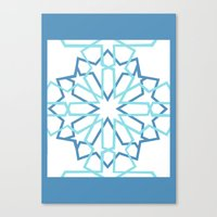 arabic Canvas Prints featuring Arabic Pattern by Soso Creation
