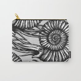 AMMONITE COLLECTION B&W Carry-All Pouch