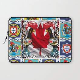 Portugese Canadian Laptop Sleeve