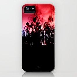 Intense mountain. iPhone Case