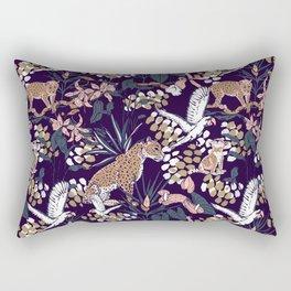 Night in the jungle Rectangular Pillow