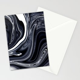 Snowy Night | Marble Stationery Cards