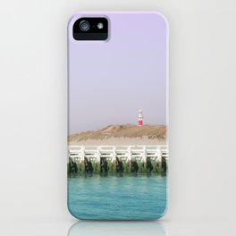 North Sea Pier iPhone Case
