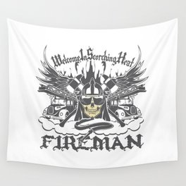 Welcome to Scorching Heat Wall Tapestry