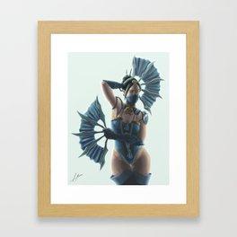 Kitana Wins! Framed Art Print