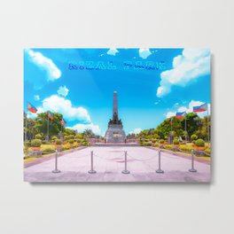 Rizal Park (Anime Style) Metal Print