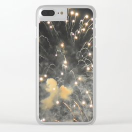 Marina Fireworks 2018 view 4 Clear iPhone Case