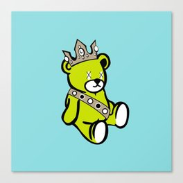 Bear King Canvas Print