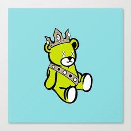 Bear King Canvas Print