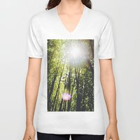bamboo V-neck T-shirts featuring Bamboo by Warren Silveira + Stay Rustic