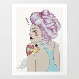 Lady Luck Art Print