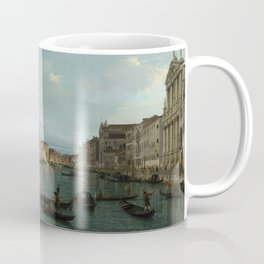 A View of the Grand Canal by Canaletto Coffee Mug