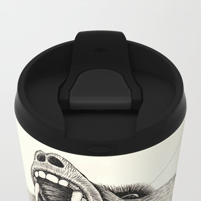 'Wildlife Analysis III' Metal Travel Mug