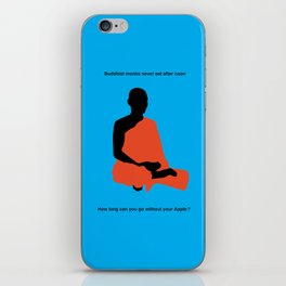 Monk iPhone Skin