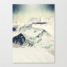 Flight Over Yatsugate Canvas Print