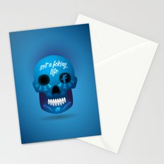 Get fcking life Stationery Cards