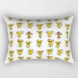 Fireflies of Creativity Rectangular Pillow