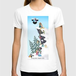Welcome Anna and Elsa  T-shirt