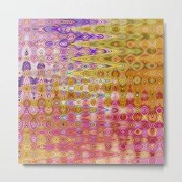 350 - Abstract Colour Design Metal Print