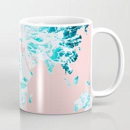 Ocean World Map Sea Dreams Coffee Mug