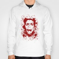 scary Hoodies featuring American Psycho by David