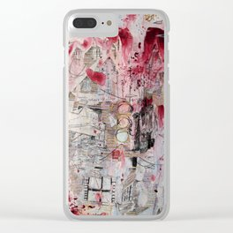 Dream (on Flight) Clear iPhone Case