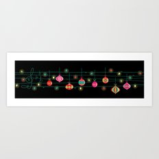 Santa claus is coming to town~~ Art Print