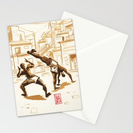 Capoeira 339 Stationery Cards