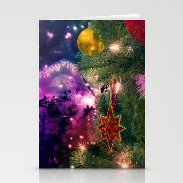 Step Into Christmas.Step Into Christmas Stationery Cards By Irynagoodall