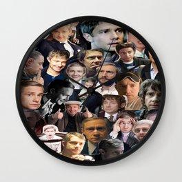Martin Freeman Collage Wall Clock