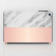 Real Italian Marble and Pink iPad Case