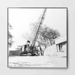 An old crane Metal Print