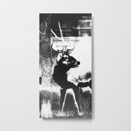 Tired Metal Print