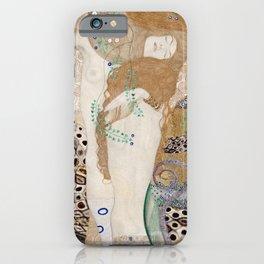 Gustav Klimt -  Water Serpents iPhone Case
