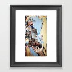 DETROIT REVIVAL Framed Art Print