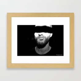 Spooky Luke. Framed Art Print