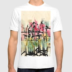 Our little Town MEDIUM White Mens Fitted Tee