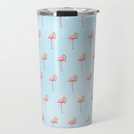 Flamingos in the Sky Travel Mug