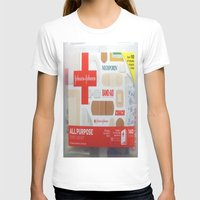 band T-shirts featuring Band Aid by Robin Curtiss