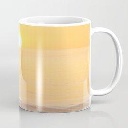 Peachy sunrise seascape Coffee Mug