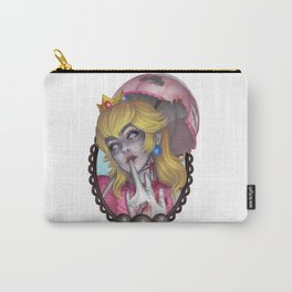 Zombie Peach Carry-All Pouch