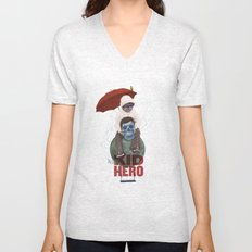 KID HERO Unisex V-Neck