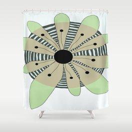 FLOWERY  CAMILLE / ORIGINAL DANISH DESIGN bykazandholly Shower Curtain