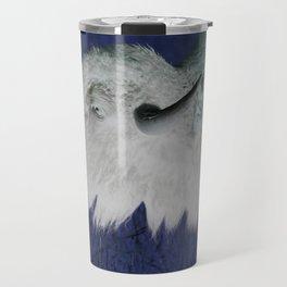 Tatanka, White Buffalo Travel Mug