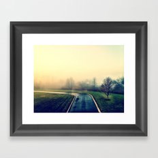 Road Home Framed Art Print