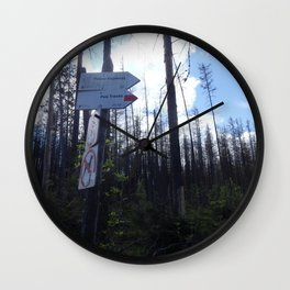 Which way to choose? Wall Clock