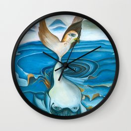 Whale | Transformation Wall Clock