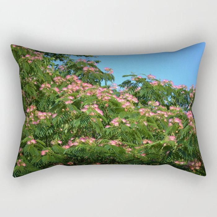 Mimosa Branch Rectangular Pillow