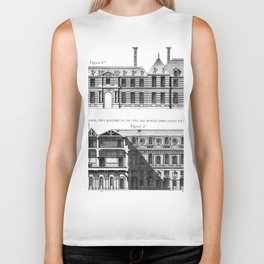 Palais-Royal on the rue St. Honoré 1754 Biker Tank